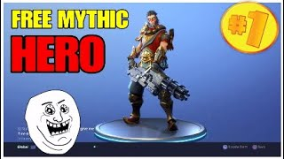 Fortnite| How to get a free mythic hero