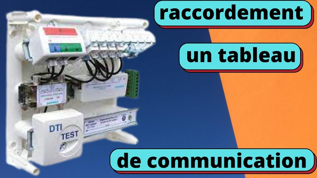 Download comment raccorder le tableau de communication correctement