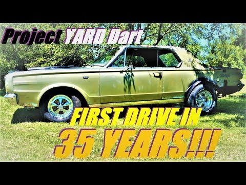FIRST DRIVE IN 35 YEARS! Project YARD Dart 1966 Dart GT 273 ep 7