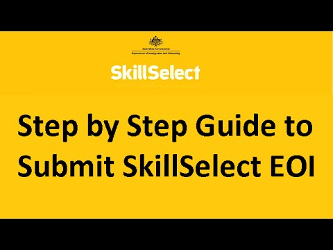 Step By Step Guide To Submit SkillSelect EOI For Australian Immigration [NOT IMMIGRATION ADVICE]