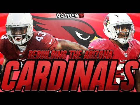Madden 18 Connected Franchise | Rebuilding The Arizona Cardinals | The New Drafted Quarterback