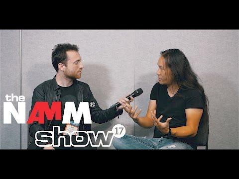 Herman Li of DragonForce announces NEW ALBUM at NAMM 2017