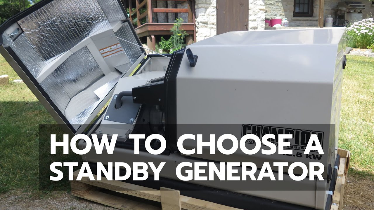 5 Best Home Standby Generator Reviews (Updated 2019)