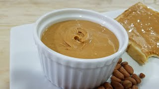 TASTY CREAMY PEANUT BUTTER RECIPE-HOW TO MAKE HEALTHY PEANUT BUTTER AT HOME  BY KITCHENWITHFATIMA