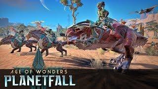 Co ja GRAM? Age of Wonders Planetfall Gameplay PL