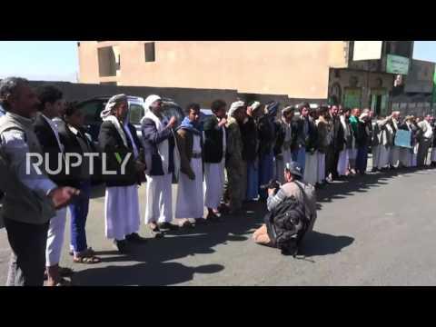Yemen: Hundreds protest against UN envoy's peace plan in Sanaa