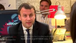 Macron l'anti-social