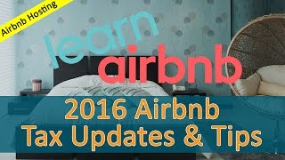 Gambar cover Airbnb US Tax Tips and Updates for 2016
