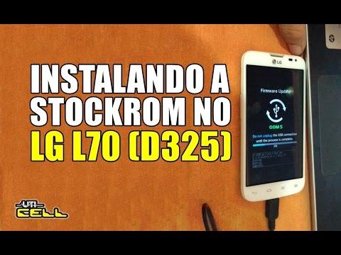 Instalando a Rom/Firmware no LG Optimus L70 (D325) #UTICell