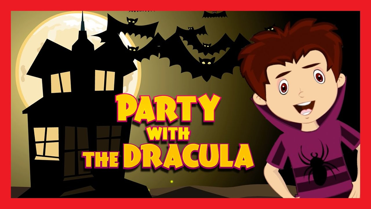 Party with the Dracula Halloween song  HALLOWEEN SONG FOR KIDS