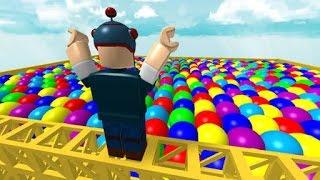 Roblox/Obby/Escape The Ball Pit!!!!!