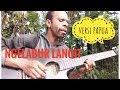 Orang PAPUA nyanyi lagu banyuwangi (ngelabur langi)