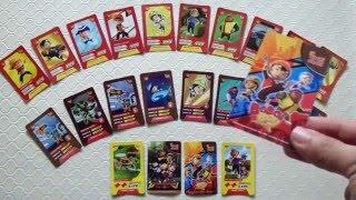 BOBOIBOY CHOKI CHOKI CARD - Character Card - Attack Card - Magic Card