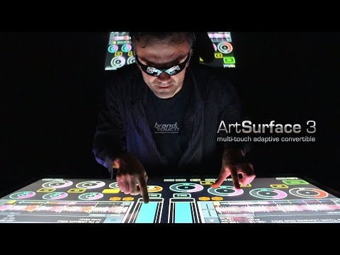 Responsive touch table-stand-wall hybrid ArtSurface 3 is shipping