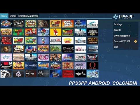 descargar juegos emulador ppsspp android