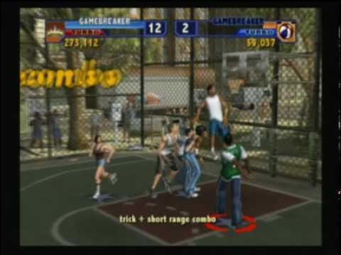 NBA Street Vol. 2  Rachel Melvin in The Cage