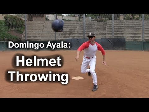 Helmet Throwing with Domingo Ayala