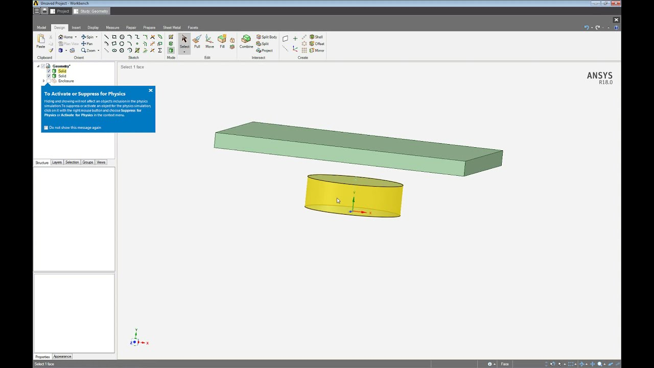 ANSYS AIM Permanent Magnetic Placement Simulation