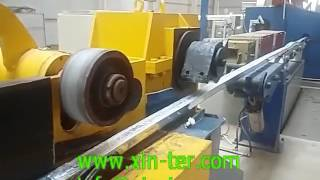 31 Aluminum rod continuous casting and rolling mill