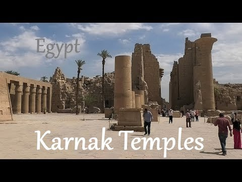 EGYPT: Karnak Temples - Luxor