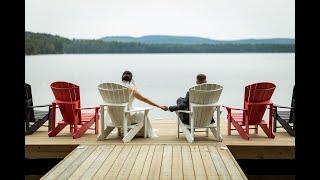 Fun and Emotional Algonquin Park Wedding