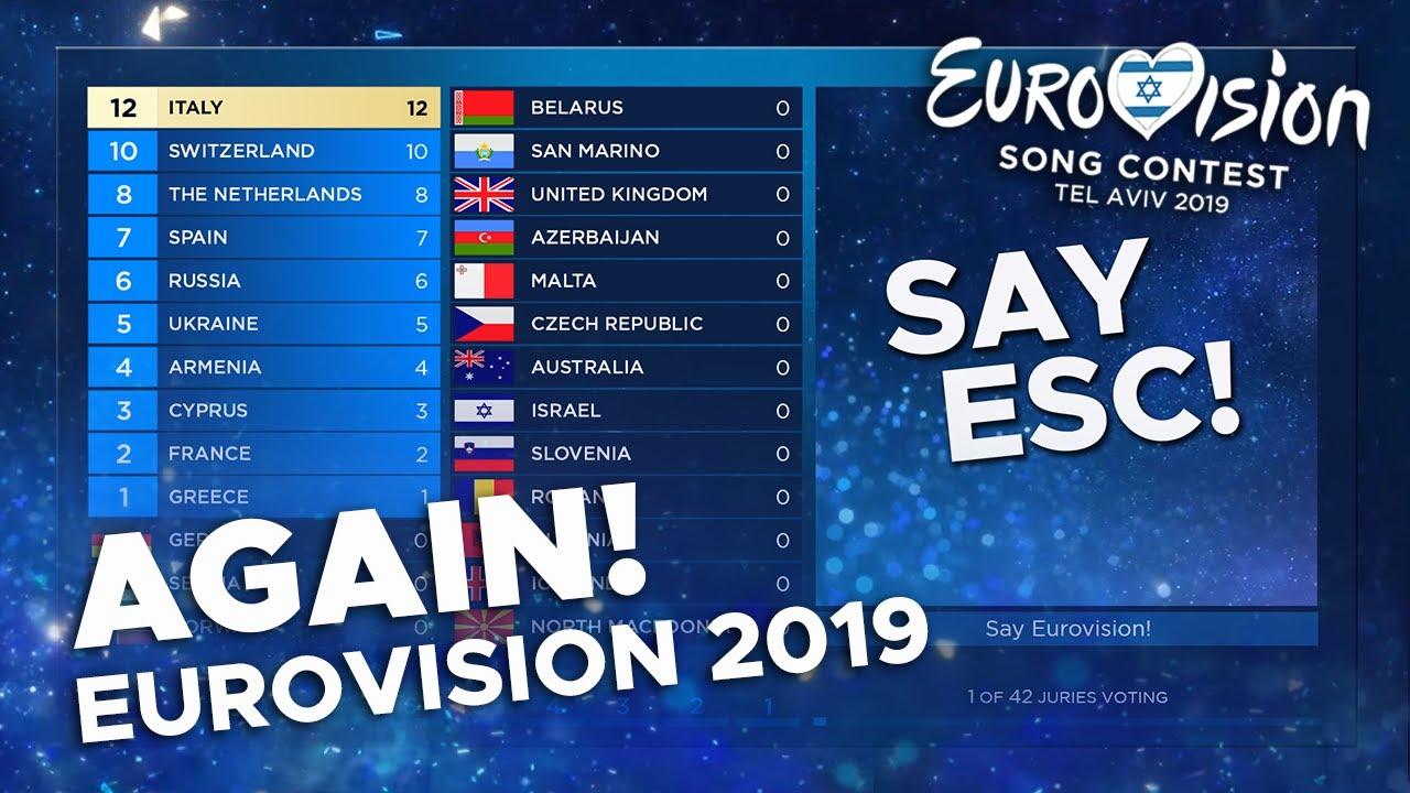 Eurovision 2019 Again! | Grand Final Show & Voting