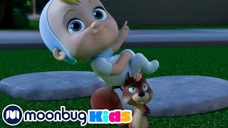 Squirrel Stole the Baby - ARPO to the Rescue | @ARPO The Robot  | Robot Nanny | MOONBUG KIDS