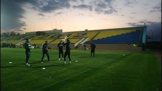 Тренировка сборной Украины перед матчем с Литвой