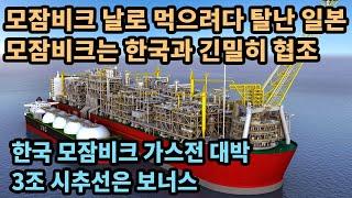 모잠비크 날로 먹으려다 탈난 일본, 모잠비크는 한국과 …