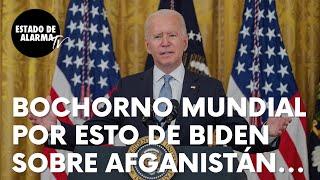 Las afirmaciones del presidente de EEUU, Joe Biden, sobre Afganistán que abochornan al mundo entero