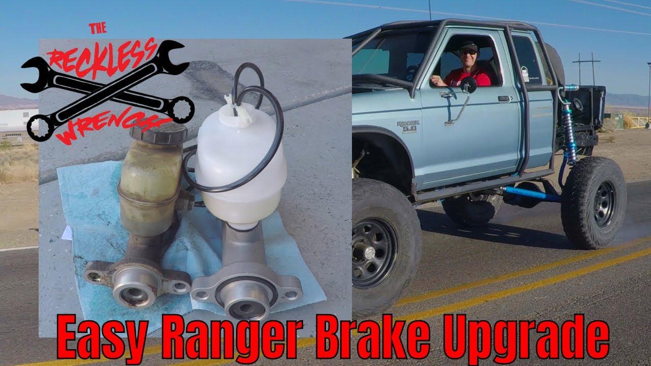 Easiest Ford Ranger Brake Upgrade - Reckless Wrench Garage