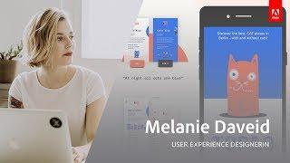 UX und UI Design mit Melanie Daveid - Adobe Live 1/3 thumbnail