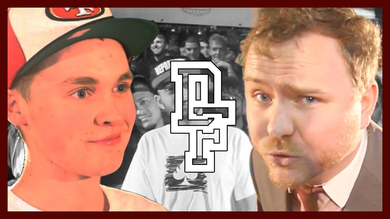 MARK GRIST VS BLIZZARD | Don't Flop Rap Battle