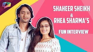 Shaheer Sheikh And Rhea Sharma Talk About Yeh Rishtey Hain Pyaar Ke | India Forums