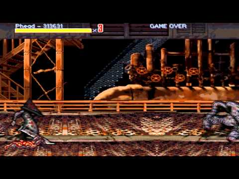 OpenBoR games: Streets of Rage Silent Hill playthrough