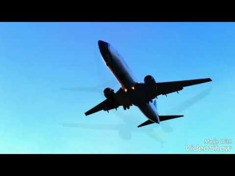 BLUE PANORAMA BOEING 737  Beautiful close landings in Tirana Intl Airport,  Sunday 20 Nov 2016