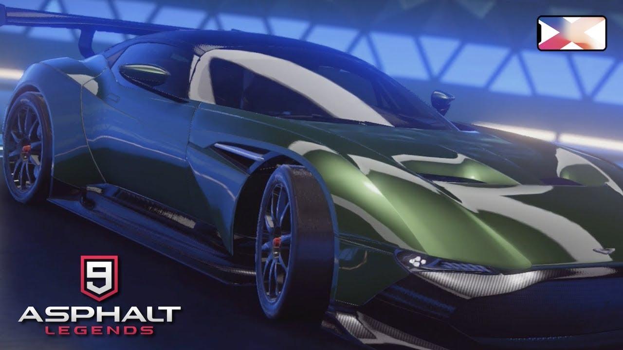 Asphalt 9 Aston Martin