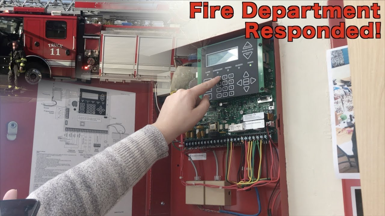 school fire drill 11 fire dpt responded  [ 1280 x 720 Pixel ]