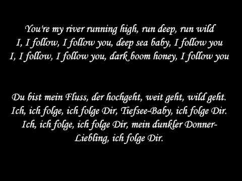 I follow rivers - Lyyke Li - Lyrics und deutsche Übersetzung