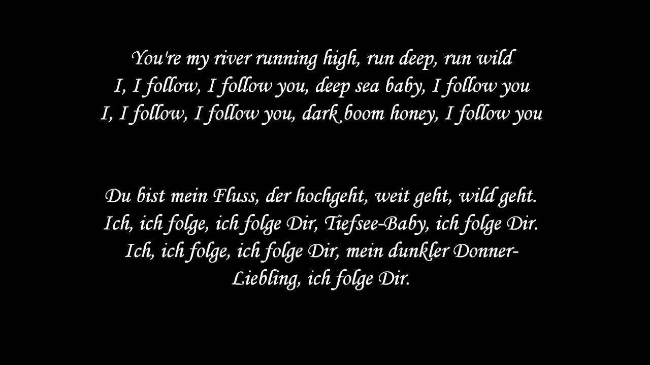 I follow rivers - Lyyke Li - Lyrics und deutsche Übersetzung - YouTube
