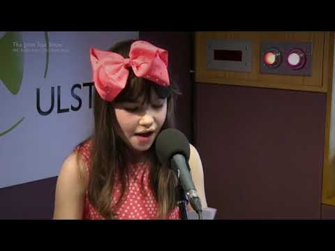 """Kaylee Rogers sings """"A Thousand Years"""" on BBC Radio Ulster"""