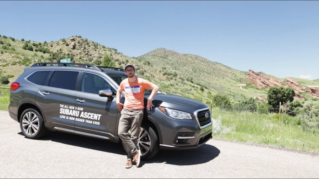 Adaptive Cruise Control and Lane keep assist in the 2019 Subaru Ascent