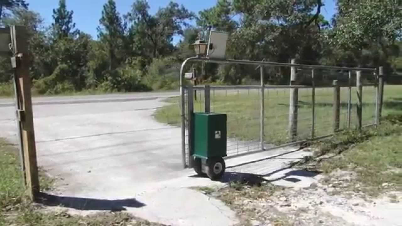 Gator Power Gates Newest Automatic Gate Opener Youtube