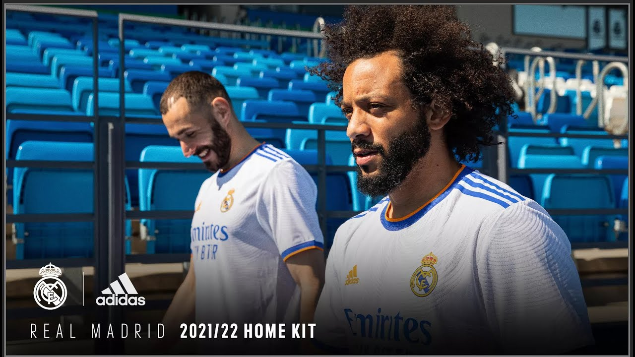 Real Madrid x adidas Football   2021/22 Home Kit