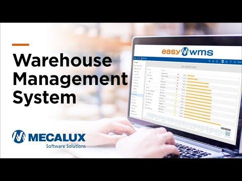 Warehouse management software - Easy WMS | Mecalux