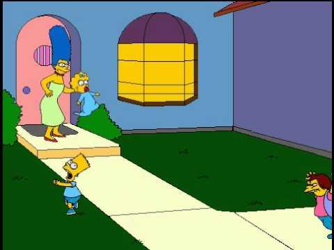 The Simpsons Cartoon Studio - Bart's Mistake - YouTube