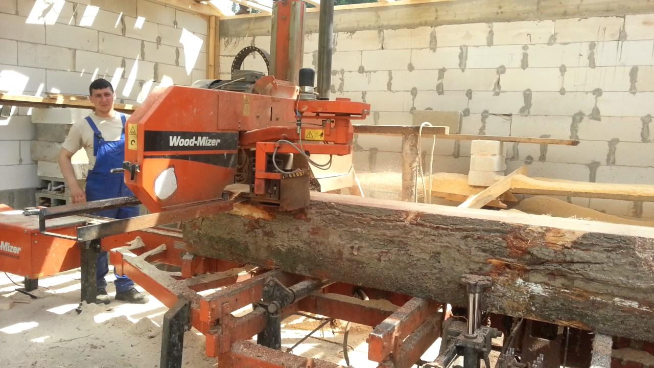 Wood mizer lt 40 sawmill by Dawid Soczawa