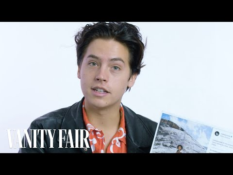 Cole Sprouse Explains His Instagram Photos  Vanity Fair