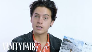 Cole Sprouse Explains His Instagram Photos | Vanity Fair