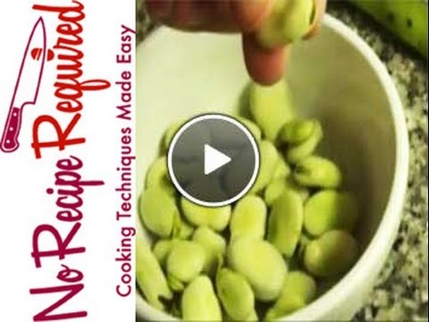 Generate How to Clean Fava Beans - NoRecipeRequired.com Pictures